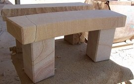 Sandstone Garden table