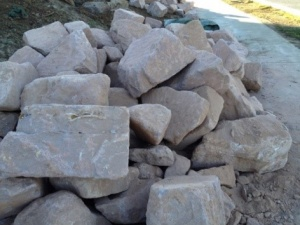 Sandstone Manhandlables Hammered