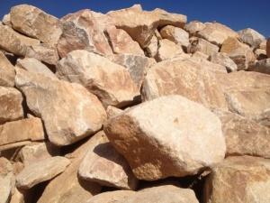 Sandstone Random Boulders Natural
