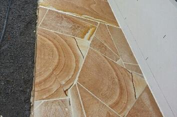 Sandstone Crazy Pave