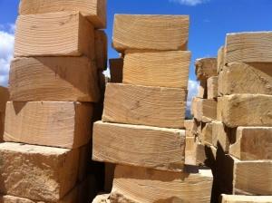 Desert Sandstone Brick Stair