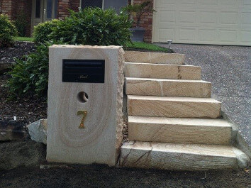 Sandstone Letterbox House
