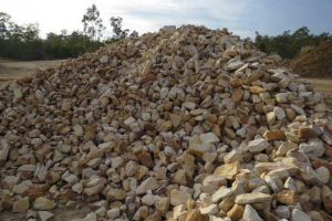 Sandstone Gabion Crushed