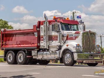 Brisbane Rock Sales Transport Body Truck