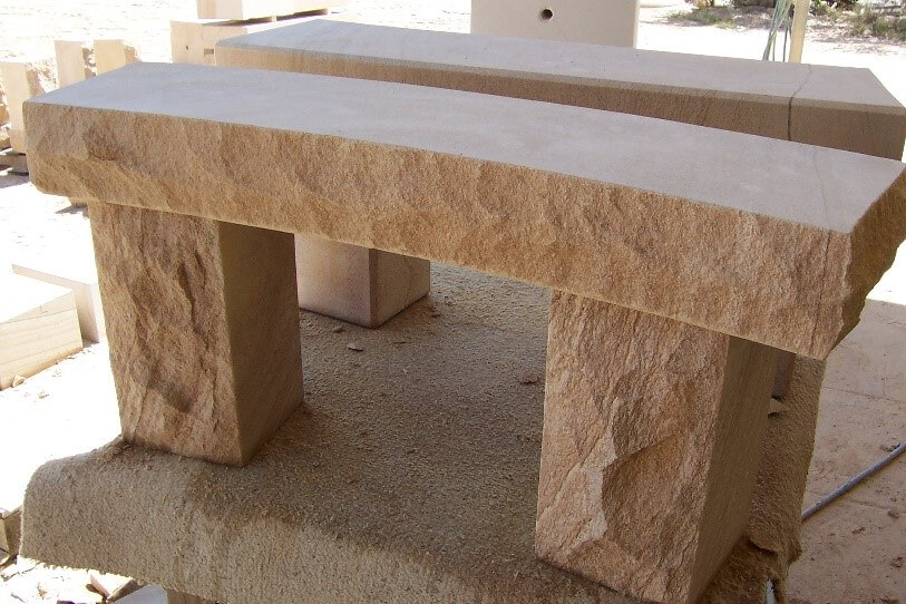Swell Sandstone Seats Brisbane Rock Sales Call 0400 992 560 Ncnpc Chair Design For Home Ncnpcorg