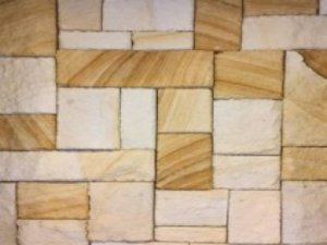 Sandstone Cladding Colonial Banded