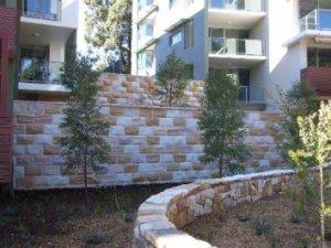 Sandstone Cladding Rockfaced Banded