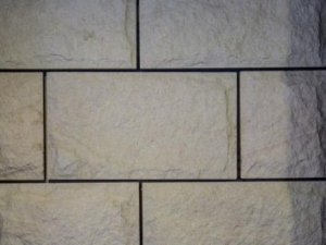 Sandstone Cladding Rockfaced White