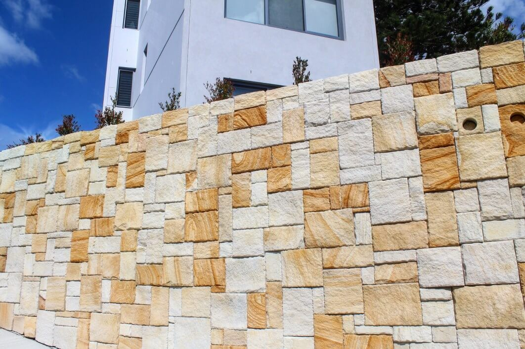 Sandstone Cladding Colonial Banded Brisbane