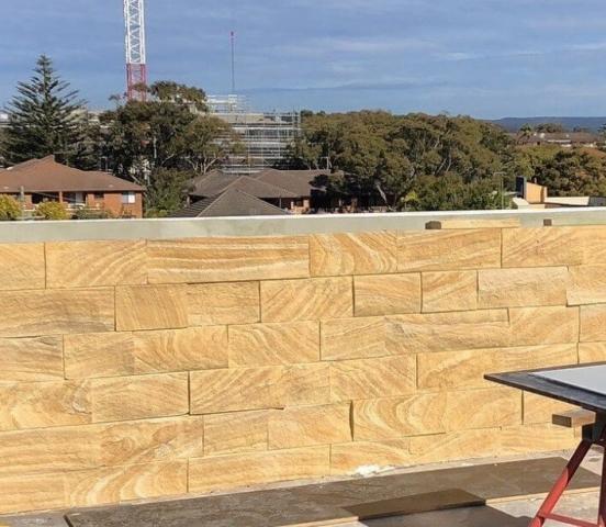Sandstone Cladding Kirra Banded Brisbane