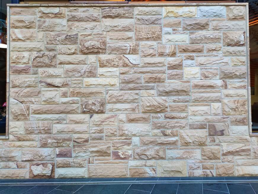 Sandstone Cladding Rockface Ranch Brisbane