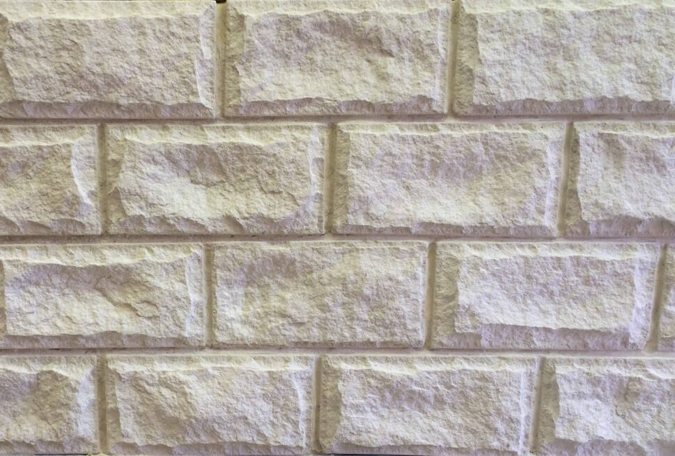 Sandstone Cladding Rockface White Brisbane
