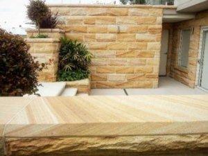 SandstoneCladding RockfacedBanded