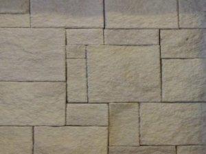 Sandstone cladding Colonial White